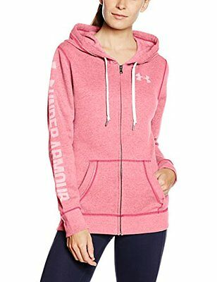 Knock Out (TG. Small) Under Armour Favorite Fleece Full Zip Felpa - Rosso (Knock