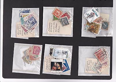 Denmark - collection in packets - good range approx 170 stamps - #17/151