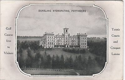 Advertising Card, The Hydropathic, DUNBLANE, Perthshire