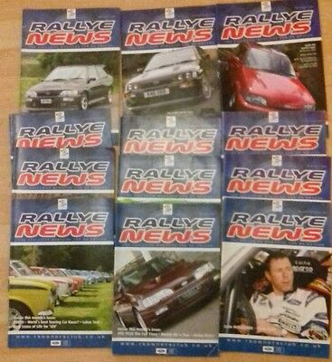 Rallye News x12 March/april 2007 to july/aug 2008 plus 3 more