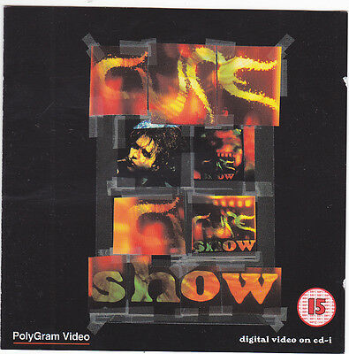 The Cure - Show - rare 2 VIDEO CD-I , (Compact Disc Interactive)  - OUT OF PRINT