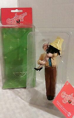 Department 56 A Christmas Story Ornament 2005 Mr. Parker Leg Lamp New In Box