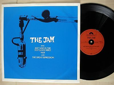 """The Jam Just Who Is The 5 O'Clock Hero ♫LISTEN♫ German 12"""" Polydor 1982 EX/EX"""