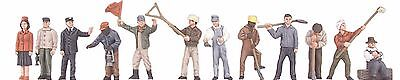 MTH 30-11055, O Gauge, 12-Piece Figure Set #3 - Railroad Employees
