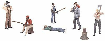 MTH 30-11057, O Gauge, 6-Piece Figure Set #2 - Outdoor People