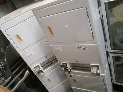 Whirlpool Coin Operated Commercial Stack Electric Dryer Machine 110V Gas WE SHIP