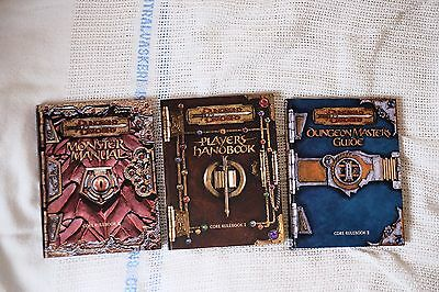 Dungeons And Dragons 3rd Edition Players, Dungeon Masters And Monster Manual