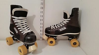 Bauer challenger converted quad roller skate size 4,5 Not Bauer Turbo/Ventro pro
