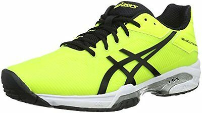 Giallo Safety Yellow/Black/White Asics Gel Solution Speed 3 Scar