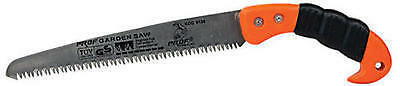 "10"" Pruning Hand Saw Sharp Ground Tri-Cut Teeth Comfort Grip Trim Limbs Branches"