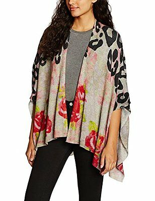 Mehrfarbig (cloudy day 1774) (TG. Small) FROGBOX with Check-Mix, Felpa Donna, Me