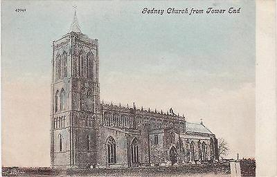 The Church From Tower End, GEDNEY, Lincolnshire