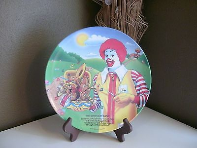McDonalds Plate~1989~The McNugget Band~Melamine