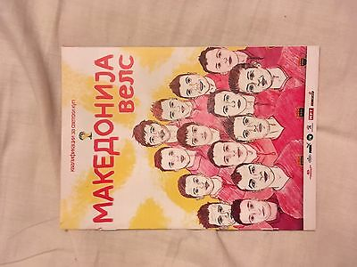 2013 Macedonia V Wales excellent Condition