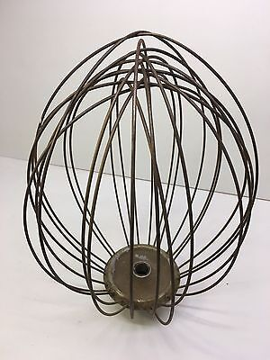Hobart? Commercial Wire Mixer Whip Wisk Attachment Repurpose Lighting Fixture