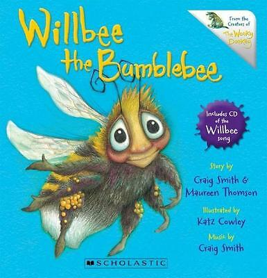 NEW Willbee the Bumblebee By Craig Smith Board Book Free Shipping