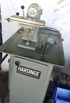 Hardinge Horizontal Mill BB4 On Stand w/ Tooling