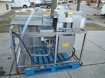 """BELSHAW TG-50"" THERMOGLAZER DONUT MACHINE 208V, 1Ph WORKING"