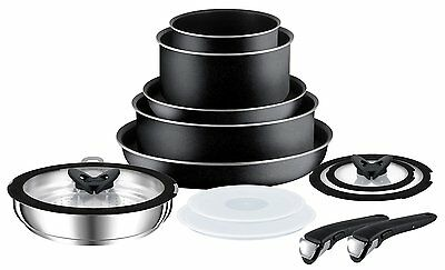 Tefal Ingenio Essential 13 Piece Pan Set with Detachable Handles Non Induction