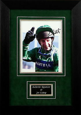 Jim Culloty Signed Framed Photo Display