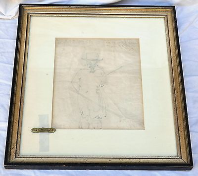 1802 George Morland Pencil Drawing, Titled: Seven Drawings (#5)