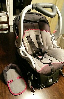 Infant baby Car Seat & base ,Baby Trend Flex-Loc, TJ94773 Expedition