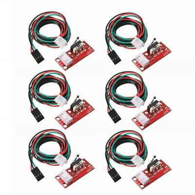 6pcs Endstop Limit Mechanical End Stop Switch W/ Cable for CNC 3D Printer RAMPS