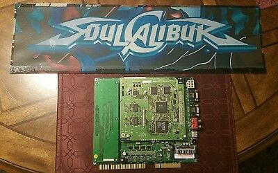 Soul Calibur Original Arcade PCB Board Namco Jamma w/ Marquee, Tested, Working