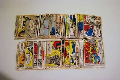 1966 Donruss Marvel Card Partial Set 40 Cards 38/66 Vg/vg-Ex Avengers Ns051