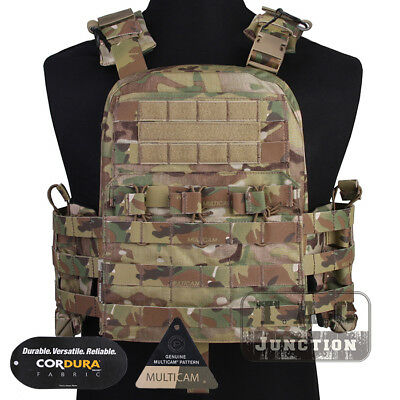 Emerson Navy CAGE Plate Carrier NCPC Vest Tactical Heavy Load-bearing MOLLE Vest