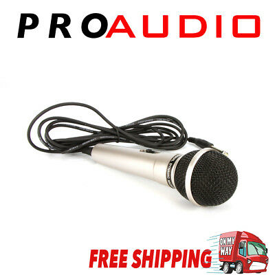 Professional Pure Vocal Unidirectional Dynamic Wired Microphone Mike with 2.8m C
