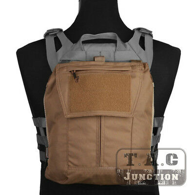 Emerson Pack Zip-on Panel Plate Carrier Back Bag for CPC AVS JPC 2.0 NCPC Vest