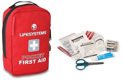 Lifesystems Pocket First Aid Kit Camping Hiking Walking DofE Outdoors Safety