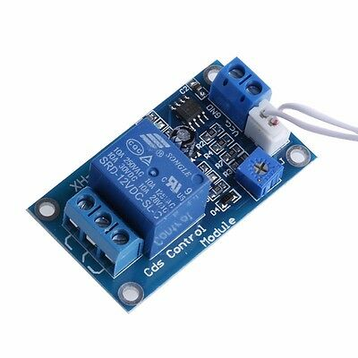 12V Photoresistor Sensor Relay Module Car Light Automatic Control Switch Cable