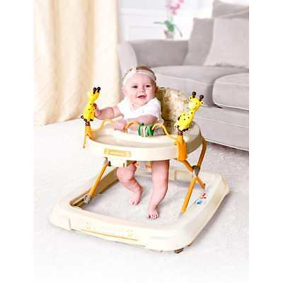 Baby Trend - Baby Activity Walker with Toys, Kiku Yellow