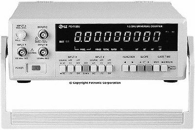 EZ Digital FC-7150U Universal Frequency Counter, 1.5GHz, 9-digit LED, RS232C