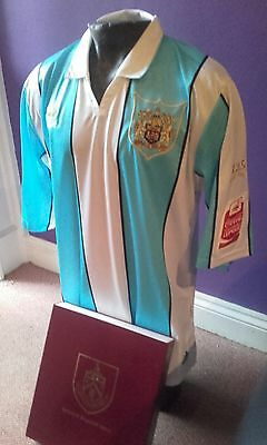 Burnley fc 125 player worn (gray) signed shirt
