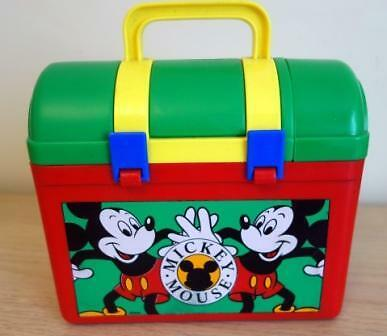 Mickey Mouse Lunchbox and Flask - Circa 1985