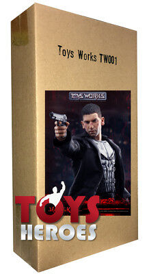 TOYS WORKS TW001 MAD SKULL THE PUNISHER Il Punitore 1/6 Ready to ship!