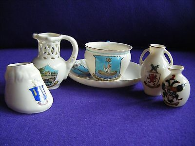 Wh Goss / Arcadian Collection Crested China
