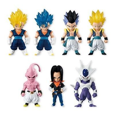 Bandai Adverge Dragon Ball Part 3 - 7 figurines Full Set