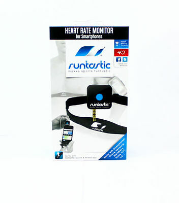 Runtastic Wireless Heart Rate Monitor For Smartphone Sensor Sport Chest Strap