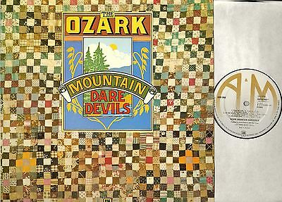 THE OZARK MOUNTAIN DAREDEVILS self titled LP EX-/VG AMLH 64411 A2/B2 uk 1973 a&m