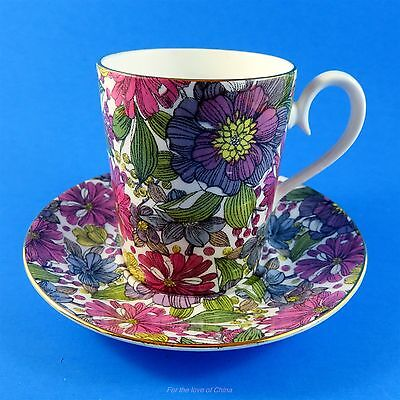 Royal Albert Floral Chintz Camelot Mug Style Tea Cup and Saucer Set