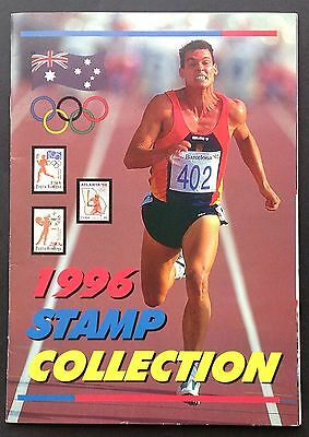Olympic Games 1996 Stamp Collection Fundraiser Booklet
