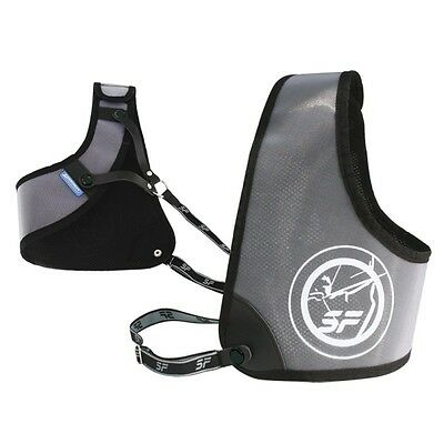 SF Elite Chest Guard For Archery - Right Handed - Large - Black