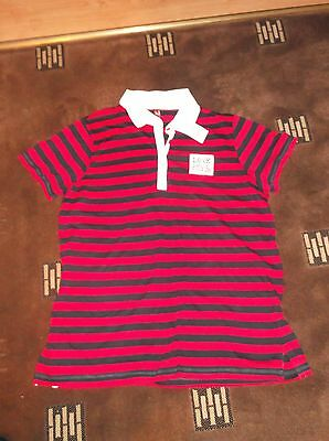 ladies lovely striped EVANS top, size 24  (new iwth tags)