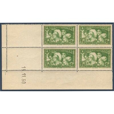 N°__269 Coin Date Caisse D'amortissement Timbres Neufs **, 1931
