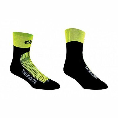 BBB BSO-11 - ThermoFeet Thermique Vélo Cyclisme Chaussettes - Jaune