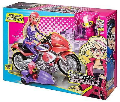 Barbie Spy Squad Secret Agent Motorcycle With Sidecar